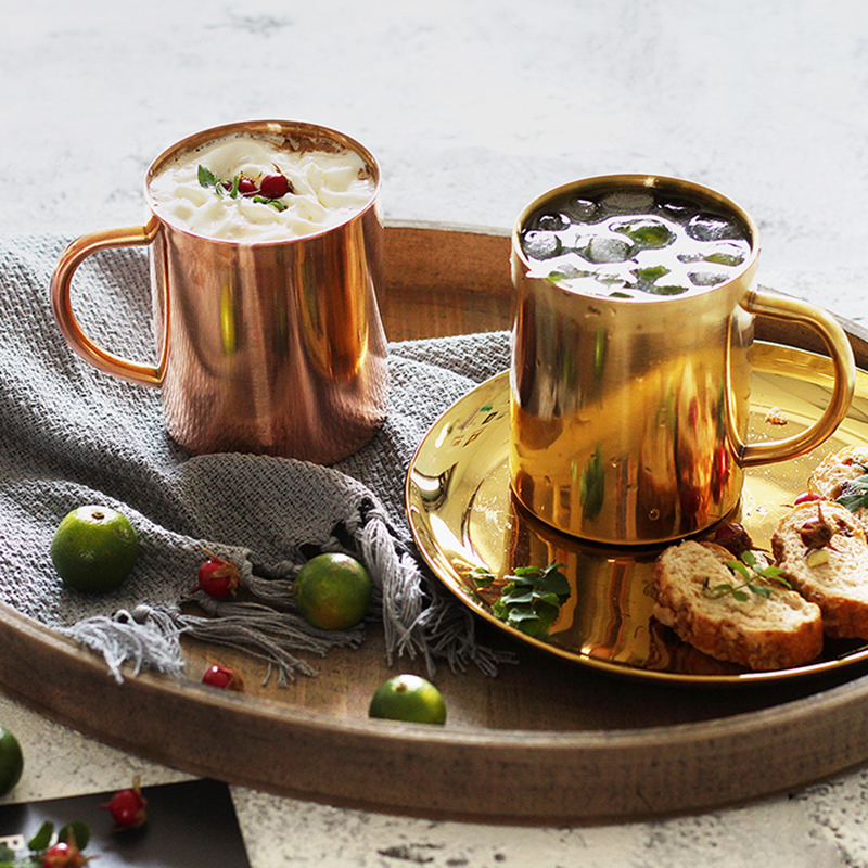 Thickened Double Wall Mugs in Stainless Steel 1