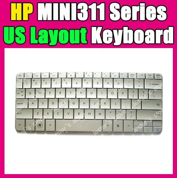 New Laptop Keyboard For CQ MINI311 MINI 311C MINI 311C-1100 MINI 311-1000 311-1100 580953-001 580030-001