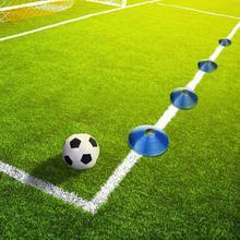 10pcs lot Cones Marker Discs Soccer Football Training Tools Soccers Sports  Entertainment Accessories Tools( aff4d1d41d5f