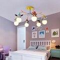 Потолочные светильники для детской комнаты  декоративные светильники для спальни  гостиной  современные светодиодные потолочные светильн...
