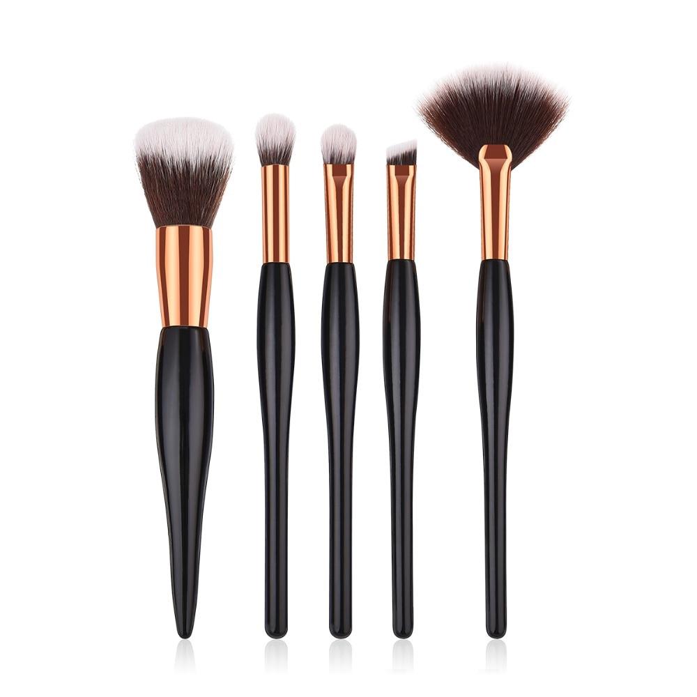 buy 5pcs makeup brushes foundation brush eyeshadow make up brush set pinceaux