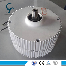 лучшая цена 300W 12V 24V Wind Turbine Generator Low Speed Start NdFeB permanent magnet generator for sale