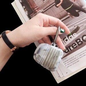 Image 3 - Silikonowy kamuflaż bitwa poziom ziemi 3 plecak Stock trzecie etui na słuchawki do Apple Airpods 1 2 ochrona słuchawki