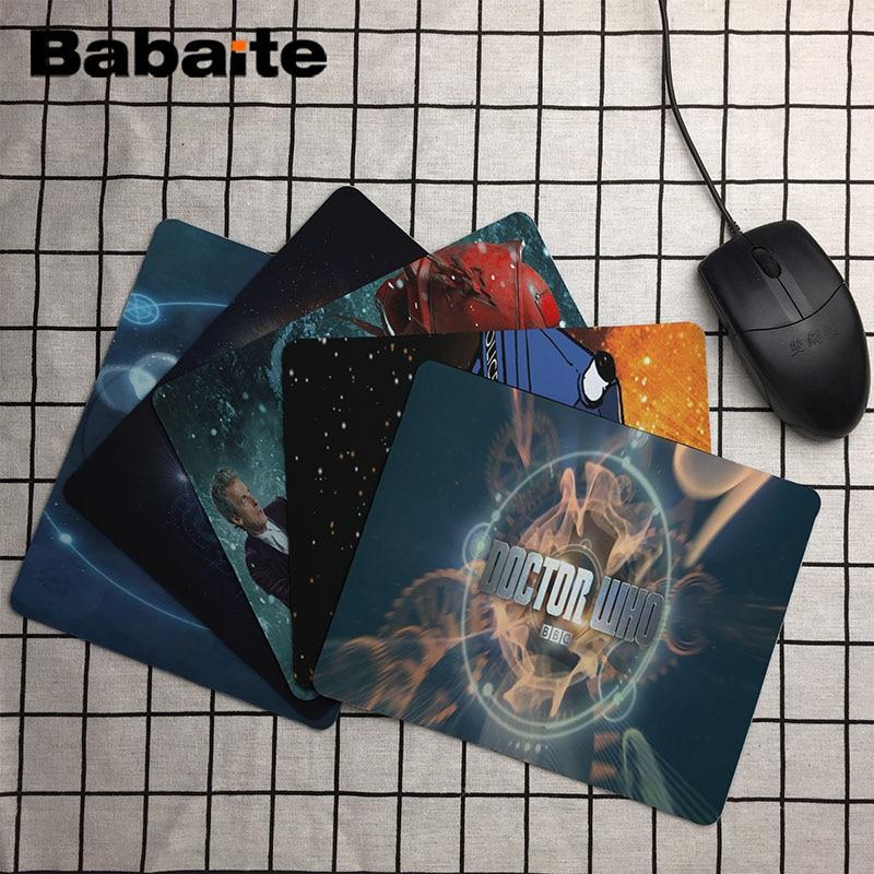 Fantasy Kurgu TV Serisi Kişisel Made Mouse Pad Galaxy Planet Doctor Who Dizüstü PC Oyun Mouse Pad Dikdörtgen Kauçuk Dayanıklı