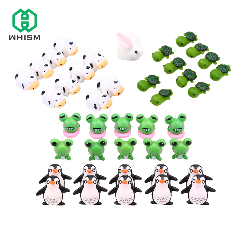 Garden Cute Cartoon: 10PCS Fairy Garden Miniatures Terrarium Cute Cartoon