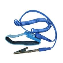 Лидер продаж антистатические браслет ESD беспроводные Беспроводной клип ремешок разряда кабели для электрика IC PLCC работника
