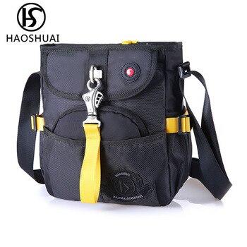 luxury messenger bag designer purse multi pocket shoulder bag travel sling bag waterproof handbag small crossbody bags for men shoulder bag