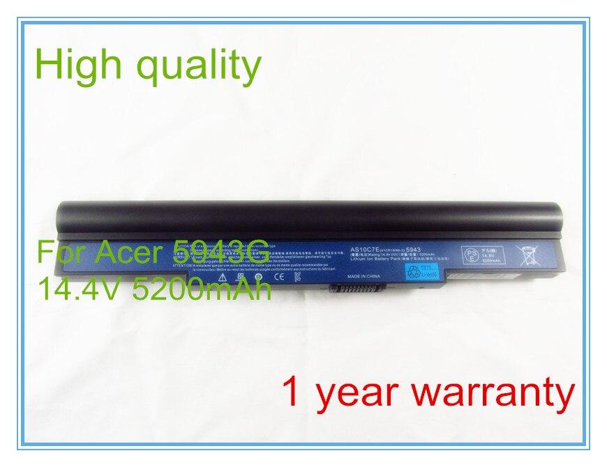 Laptop Battery AS10C5E AS10C7E For 5943 5943G 8943G 5950G 8950G 8943G-454G64Mn 5943G-454G64Mn Series 8cells