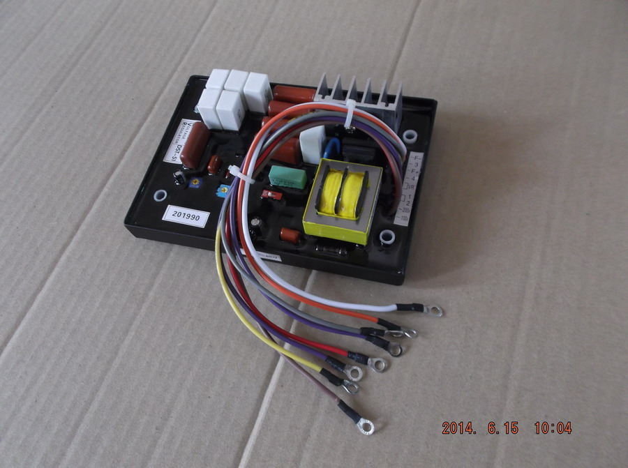 Free shipping DST-51 KJ-T130DX KJ-T180X  diesel generator suit for Kubota the more generator AVR Automatic Voltage Regulator il volo turin