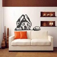 Diamond Embroidery New Hot German Shepherd Dog Wall Decal Vinyl Sticker Home Decor Good For Walls