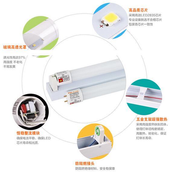 25 шт. SMD T8 интегрированы из светодиодов трубки свет люминесцентная лампа 16 Вт из светодиодов трубы гарантия 3 года