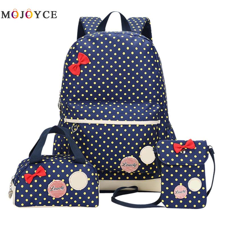 Girl School Bags For Teenagers backpack set women shoulder travel bags 3 Pcs/Set rucksack mochila knapsack girsl kid backpack ladies boy shoulder school student bag teenagers fashion shoulder travel college rucksack mochila escolar new
