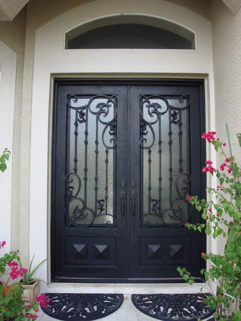 Wholesale Wrought Iron Doors Iron Double Doors Iron Doors Iron Front Doors For Sale  Hc11