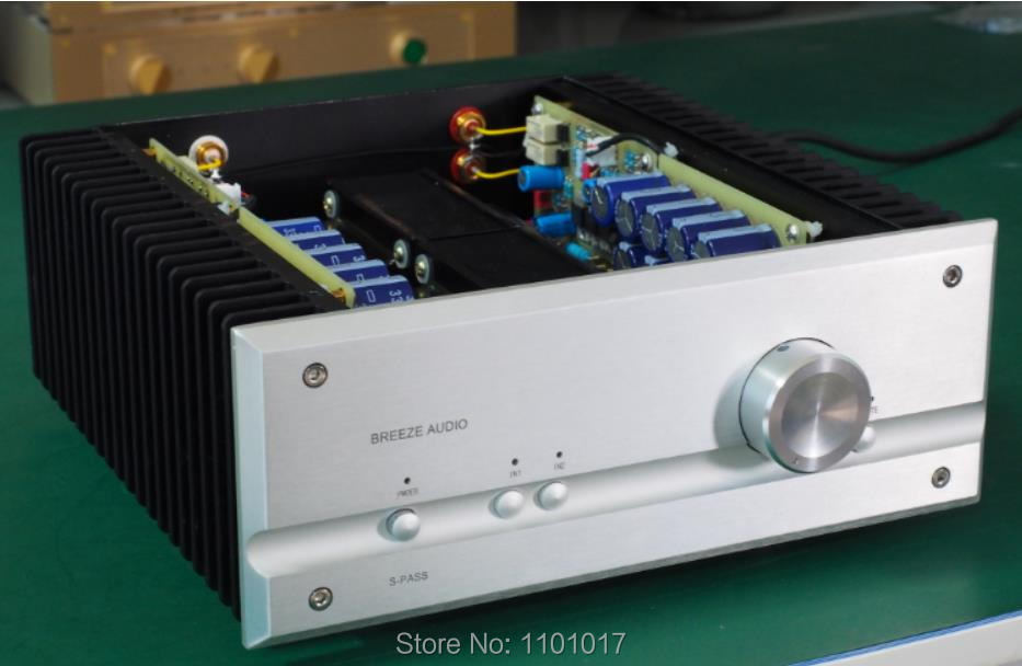 Weiliang audio P35 HiFi Pure Class A Power Amplifier HIFI EXQUIS 35W+35W Stereo Audio Power Amp