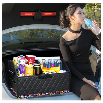 Car Trunk Box Storage Bag Organizer Foldable Suitable for truck SUV Cargo Storage Stowing  Finishing Automobile Parts