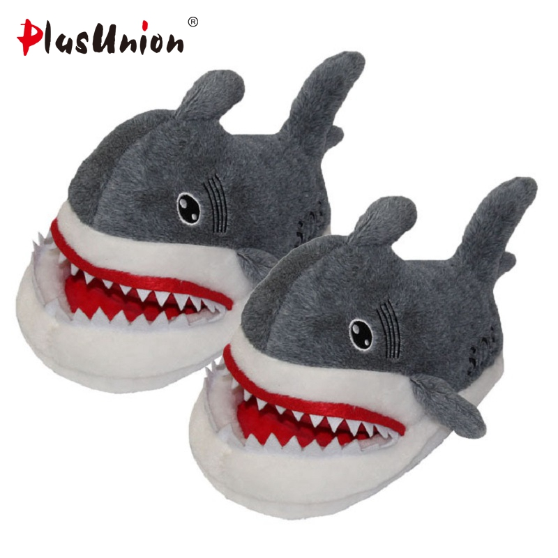 shark winter warm indoor anime flat unicorn slippers furry animal shoes fluffy cosplay house cartoon slipper home warm plush indoor cartoon cute plush unicorn slippers for women adult warm animal shoes furry fluffy unicornio shoe house winter home anime