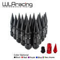 WLRING STORE- 20PCS HIGH QUALITY WHEEL NUTS ALUMINUM EXTENDED TUNER WHEEL LUG NUTS WITH SPIKE FOR WHEELS/RIMS M12X1.5 WLR-LV1215
