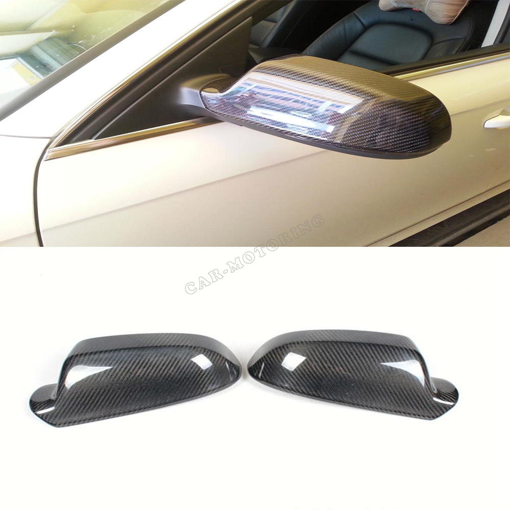 New Arrival  Carbon Fiber Rearview Mirror Cover For Audi Side Mirror Cover A4 B8 2012 Up free shipping 655488 001 for hp pavilion dv7 dv7 6000 dv7t motherboard 6770 2g all functions 100