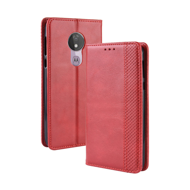 Coque G7 Power Plus Couples Simple Fashion Flip Wallet Leather G7 P40 Case For MOTOROLA G7 P40 Z4 Play Power Casing Card Cover in Wallet Cases from Cellphones Telecommunications