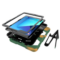 galaxy s4 Case For Samsung galaxy Tab S4 10.5 inch T830 T835 Waterproof Shock Dirt Snow Sand Proof Extreme Heavy Duty Kickstand Cover (3)