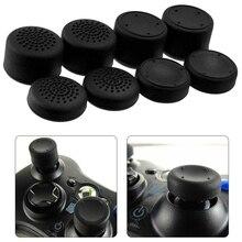 8 stücke Verbesserte Analog Stick Joystick Griffe Extra Hohe Verbesserungen Abdeckung Caps Für PS4/3/2 Für XBOX ONE/360 Spiel Controller