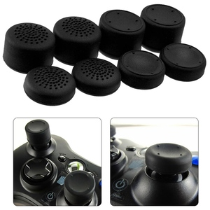 Image 1 - 8pcs Enhanced Analog ThumbStick Joystick Grips Extra High Enhancements Cover Caps For PS4/3/2 For XBOX ONE/360 Game Controller