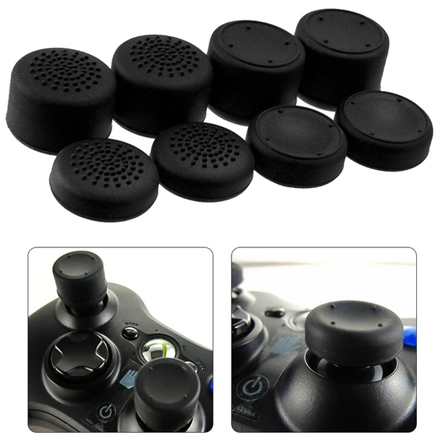 8pcs Enhanced Analog ThumbStick Joystick Grips Extra High Enhancements Cover Caps For PS4/3/2 For XBOX ONE/360 Game Controller