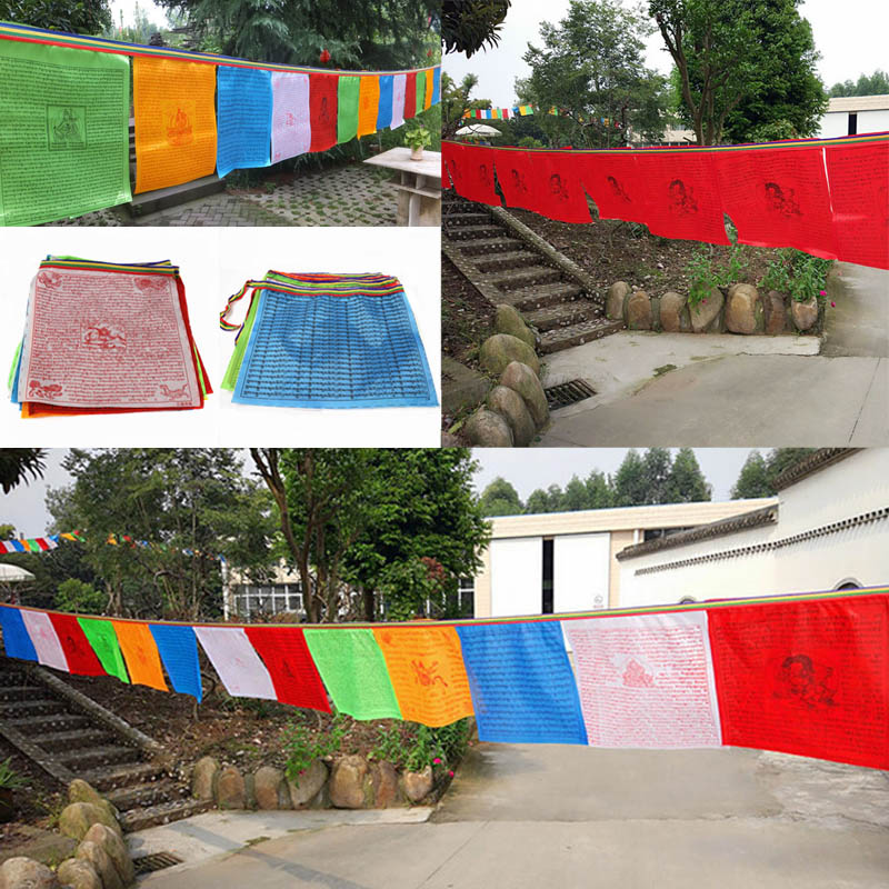Traditional Tibetan Prayer Flags 4