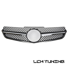 For Mercedes For Benz E-class Coupe W207 SL C207 E260 E300 E350 2009-2013 with Emblem Front Bumper Racing Mesh Grille все цены