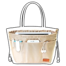 Bag in bag in bag storage bag cosmetic bag liner bag immanent liner bag finishing bag цена