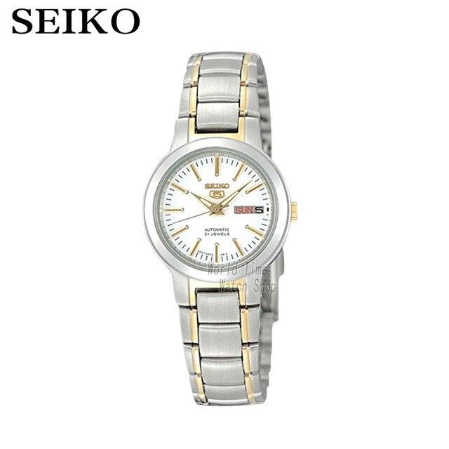 13c83ece4e3 SEIKO Watch N ° 5 Simples Automático moda relógio mecânico automático  relógio feminino SYME44K1