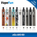 Original Joyetech eGo AIO Quick Kit 1500mAh 2ml E-juice Capacity All-in-One Kit Electronic Cigarette Vaporizer Vapor vs ijust s