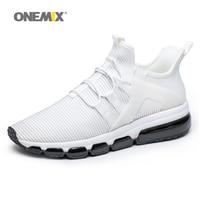 air running shoes for men white sneakers jogging trekking shoe mesh vamp Sneaker light walking sneakers big size 36 47
