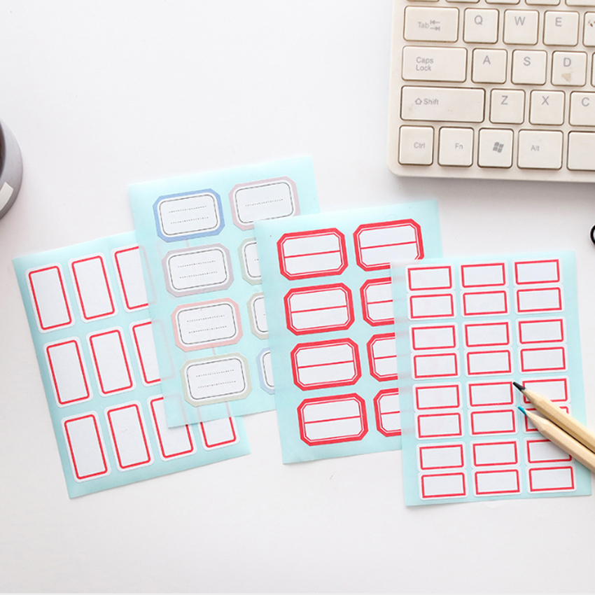 144pcs/12 Sheets Label White Self-Adhesive Label Stickers Single Laboratory Label Writable Name Stickers144pcs/12 Sheets Label White Self-Adhesive Label Stickers Single Laboratory Label Writable Name Stickers