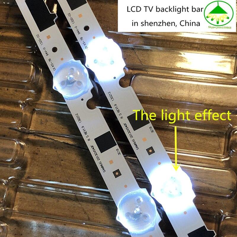 New Kit 14 PCS LED strip for samsung UE40F6400 D2GE 400SCA R3 D2GE 400SCB R3