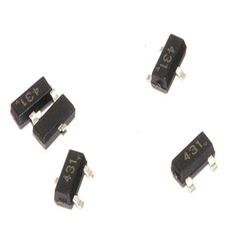 Contemplative 1000pcs Tl431 Tl431a Sot-23 431 Sot Smd Replacement Parts & Accessories Video Games