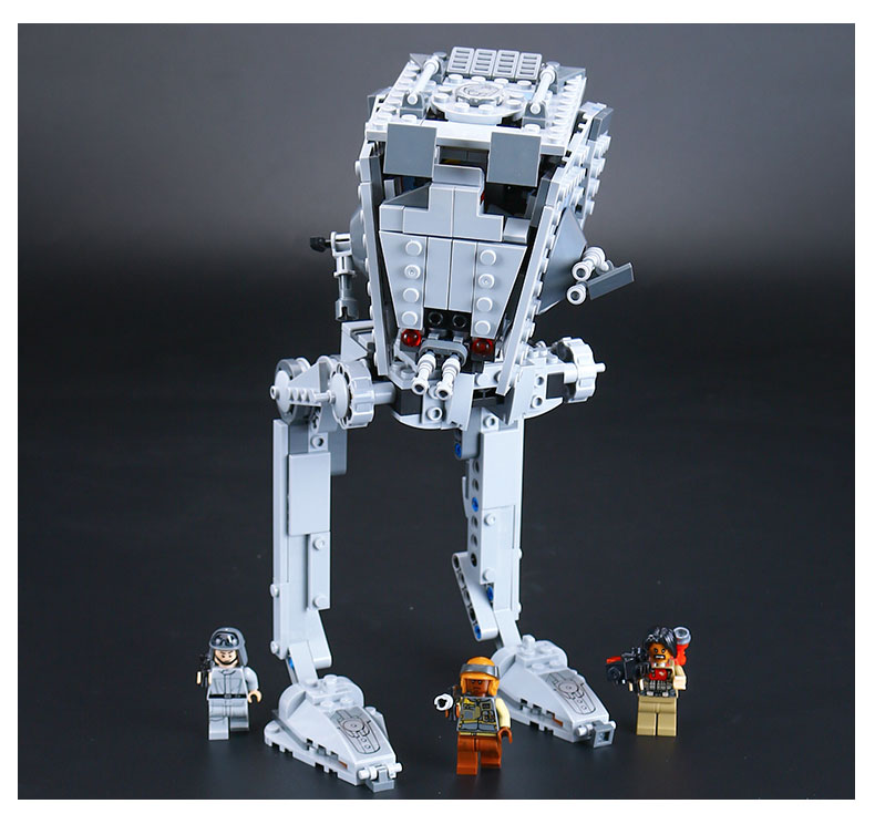 ФОТО New Lepin 05066 Genuine Star War Series The Rogue One Imperial AT-ST Walker Set Building Blocks Bricks Educational Toys 75153