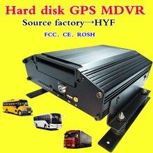 Жесткий диск Автомобильный видеорегистратор Мобильный компьютер gps video remote 4 канала беспроводной сети коаксиальный HD мониторинга