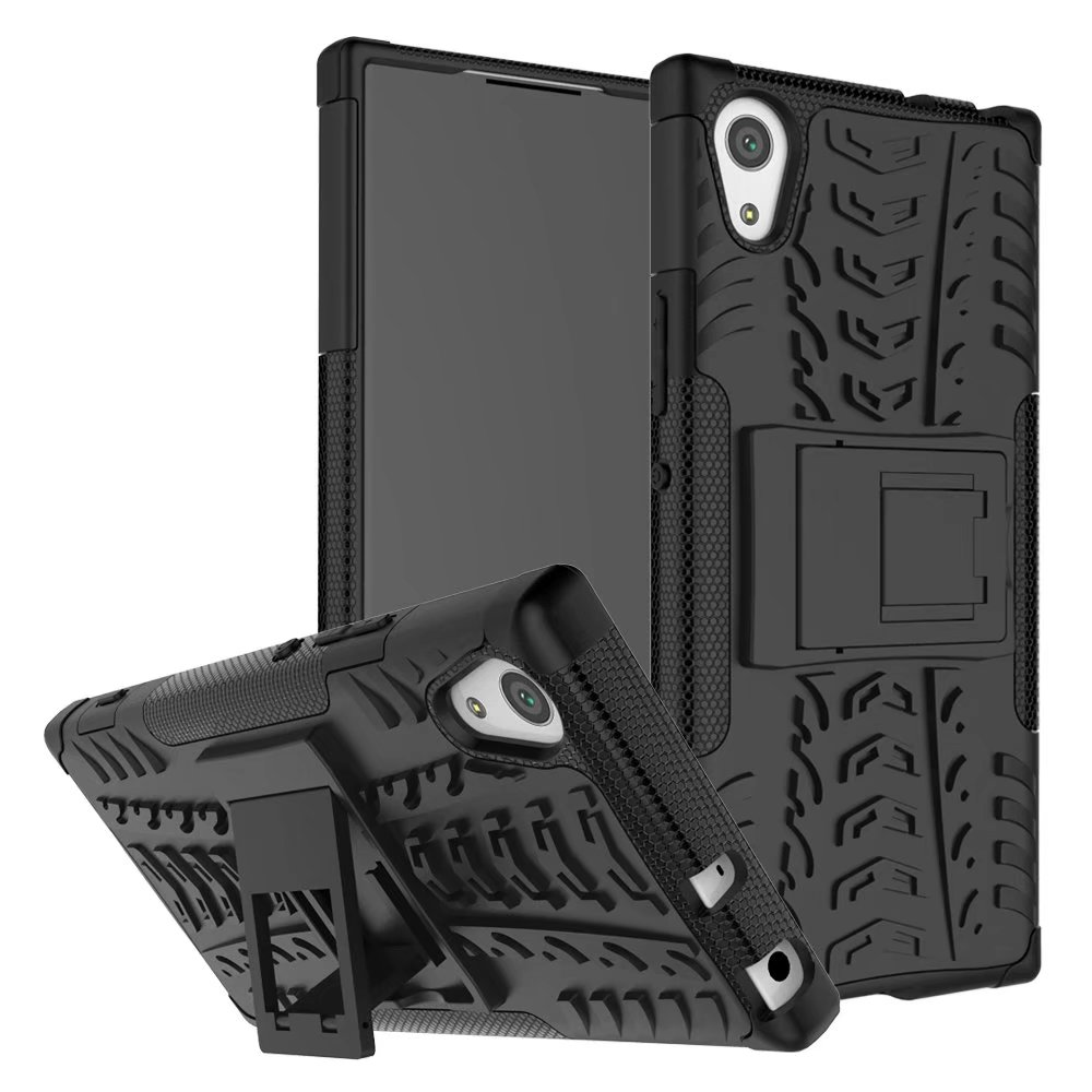 Cell Phone Case for Sony Xperia XA1 Heavy Duty Shockproof Case Hybrid Hard PC Rubber Armor Protective Phone Case Coque