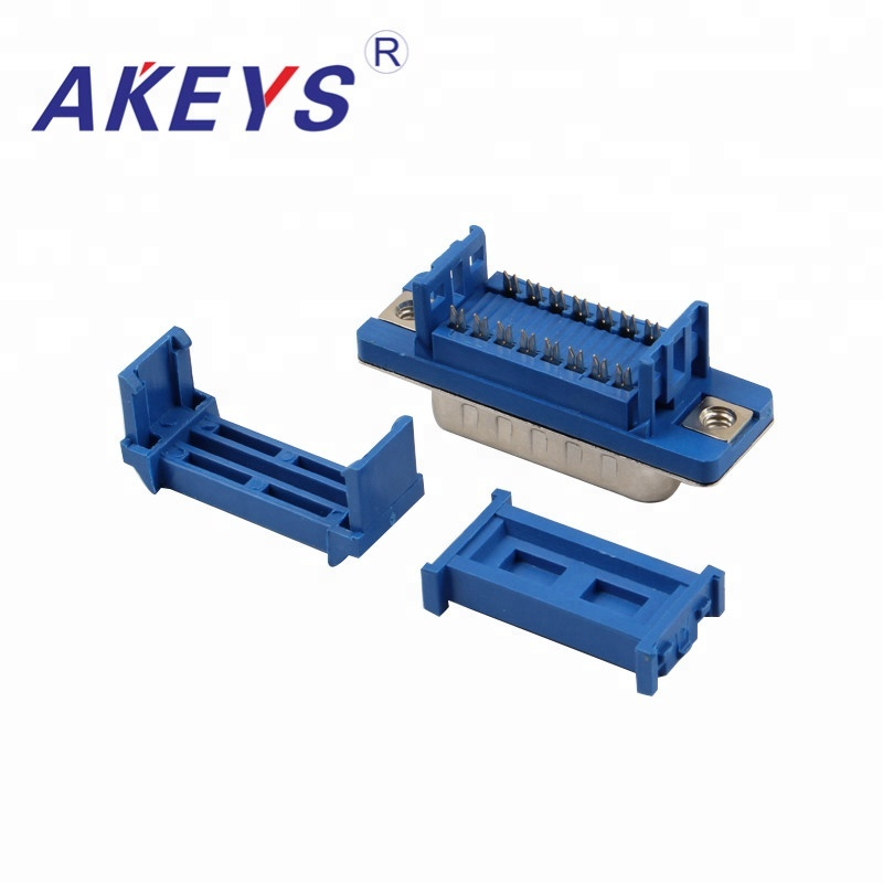 5PCS Computer Interface DB15 Pressure Line Type Blue Core VGA Interface Male in Connectors from Lights Lighting