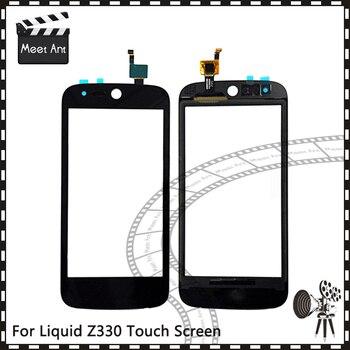 """Reemplazo de alta calidad 4,5 """"para Acer Liquid Z330 Sensor de Digitalizador de pantalla táctil Panel de lente de vidrio exterior"""