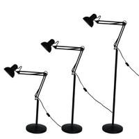 Jiawen LED Modern simple floor lamps adjustable arm metal designer floor lamp for living room AC 85 265V