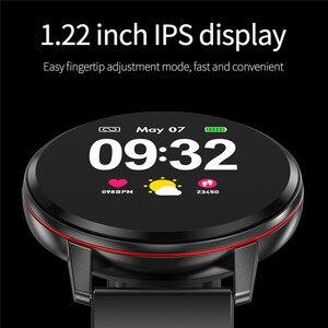 Image 3 - Lige esportes pulseira inteligente ip67 à prova dip67 água relógio de fitness tela cheia toque pode controlar a reprodução música para android ios + caixa