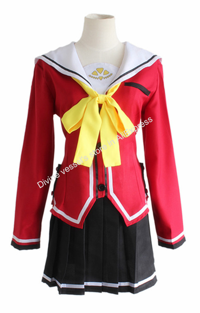 Back To Search Resultshome Charlotte Cosplay Nao Tomori Female School Uniform Delicacies Loved By All