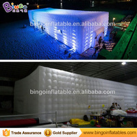 Free shipping 20M inflatable giant party tent high quality inflatable cube promotional tent for beach wedding party toy tent2018