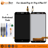 For Alcatel Pop 4+ 4 plus OT5056 5056D 5056T 5056E 5056A 5056 Touch Screen Digitizer Glass LCD Display Assembly + Tools
