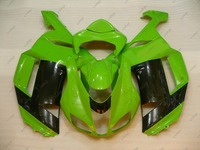 2008 Zx6r Body Kits GREEN For Kawasaki Zx6r 07 Full Body Kits For Kawasaki Zx6r 2008