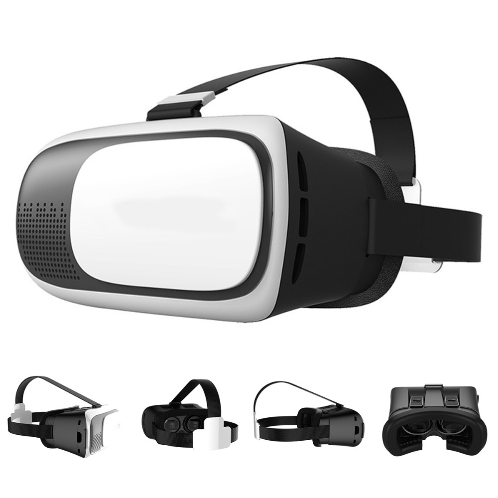 3D font b VR b font Box 2nd Gen Virtual Reality Glasses Cardboard Home Theater Game