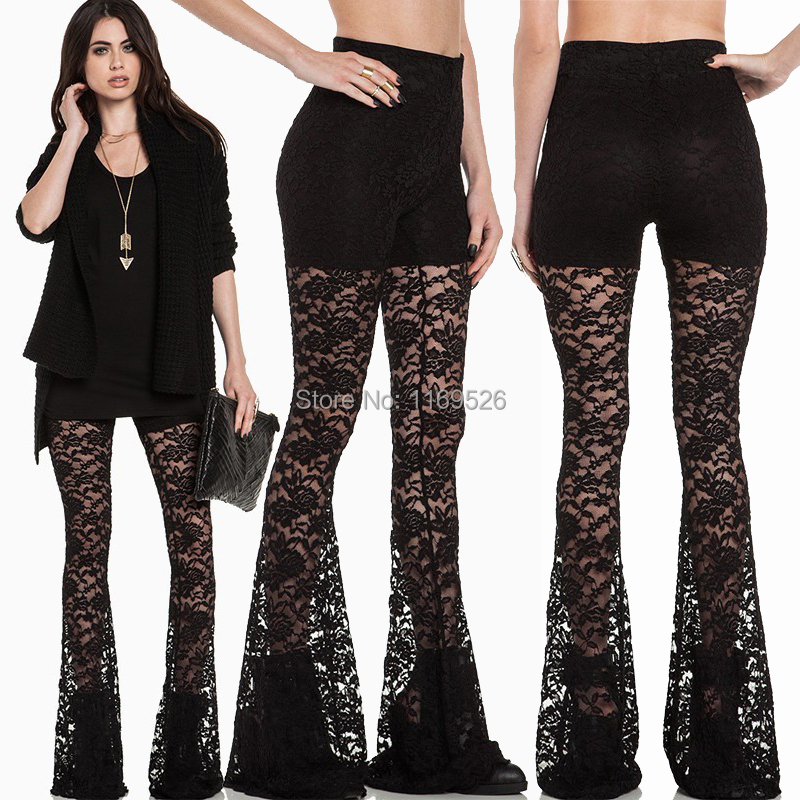Fashionable Lace Trousers