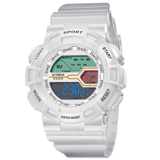 2fcc3eccaa9 Legal Crianças Relógios Relógio À Prova D  Água Meninos Meninas Digital LED  Sports Relógios de